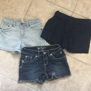 Other - Size 10 girls shorts Justice